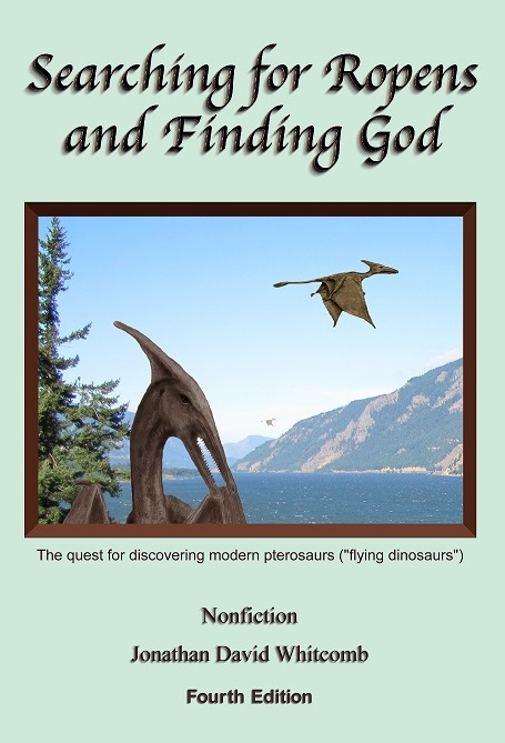 Nonfiction paperback book about eyewitness sightings of living pterosaurs